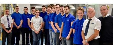 Essex engineering firm recognised as top 100 apprenticeship employer