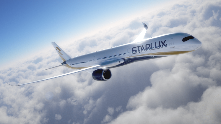 Starlux celebrates buying Airbus A350 aircraft