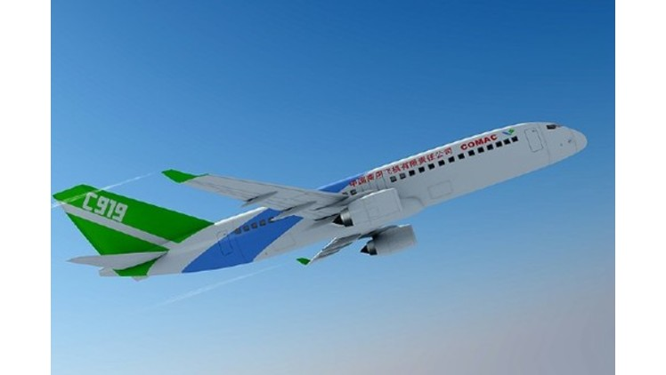 Moog and COMAC letter of intent for China's C919 system