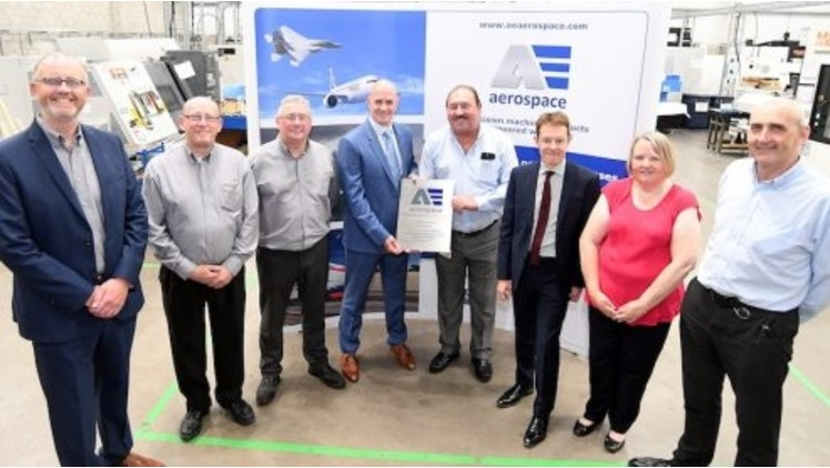 Aerospace firm opens factory at Birmingham's Network Park