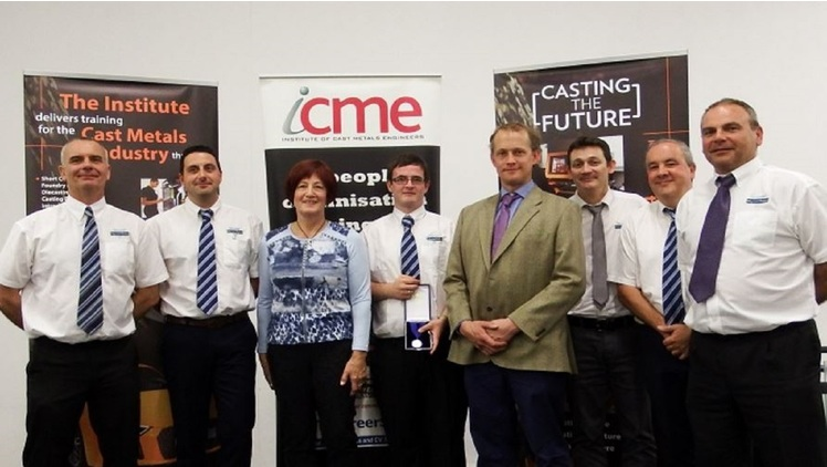Maycast apprentice picks up top student award