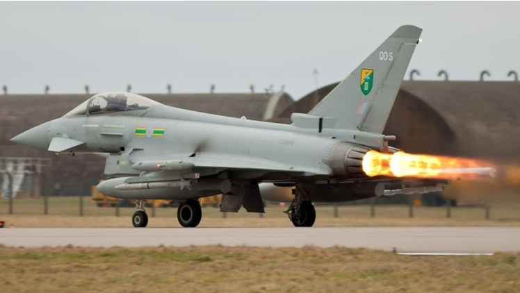 Rolls-Royce continues to support engines for RAF Typhoons
