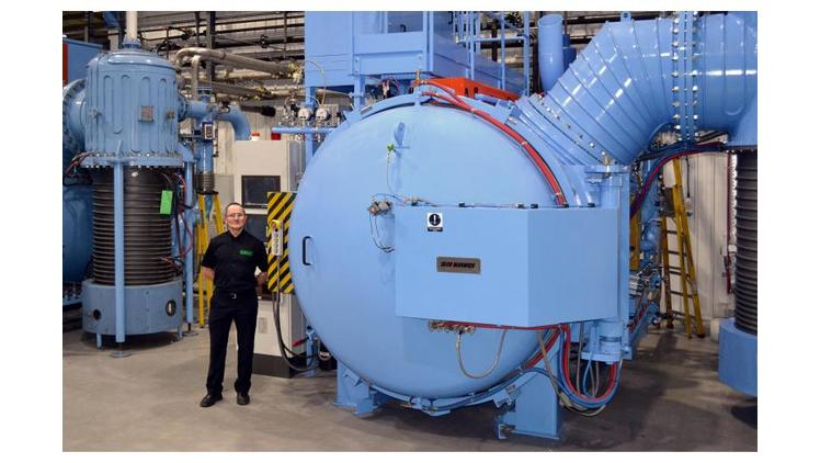 Wallwork takes delivery of new SECO Warwick Vacuum Furnace