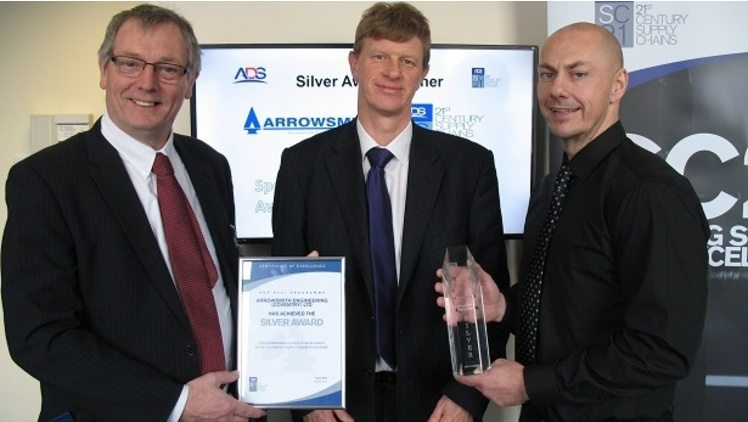 Coventry's Arrowsmith Engineering recognised for continuous high performance