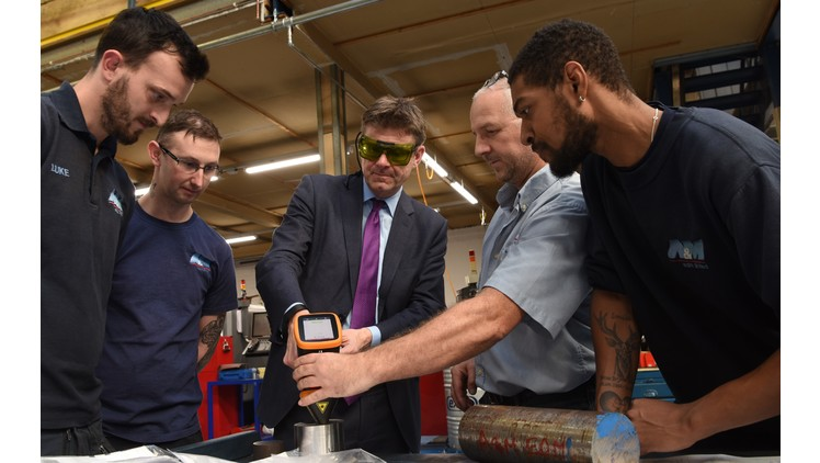 Business Secretary of State visits A&M