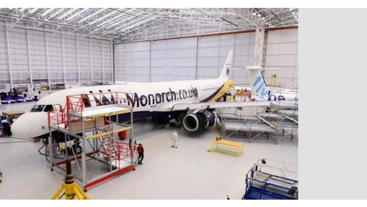 Monarch's new Birmingham hangar