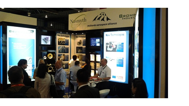 MAA exhibits at Singapore