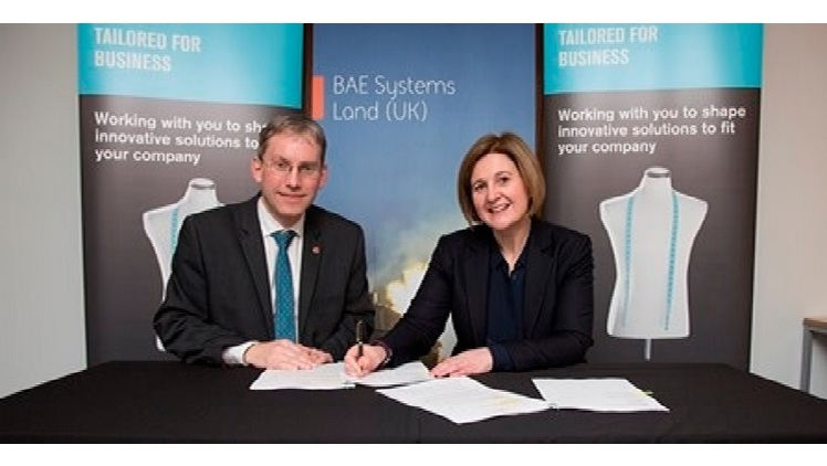 University signs partnership with BAE Systems