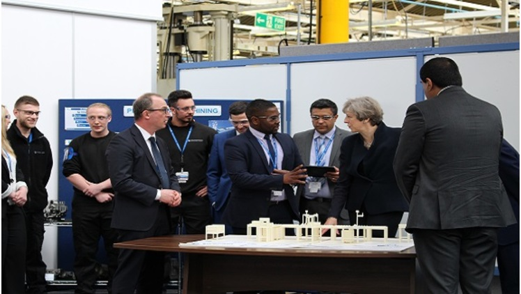 Prime Minister visits MAA member UTC Aerospace Systems