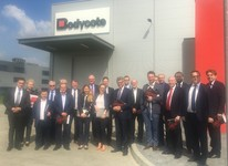 Polish Aerospace visit to Bodycote