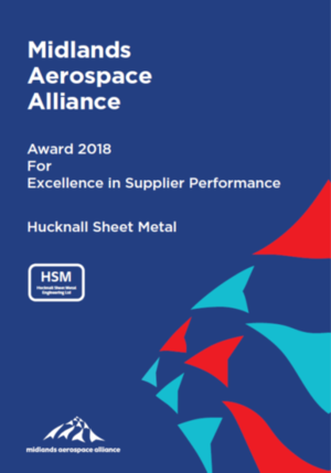 Hucknall Sheet Metal award