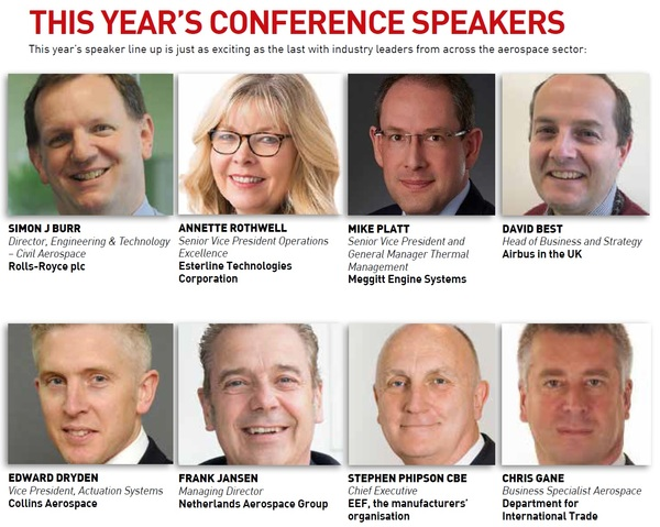Conference speakers graphic